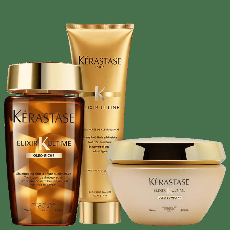 Kit Kérastase Elixir Ultime Riche Fine (2 produtos)