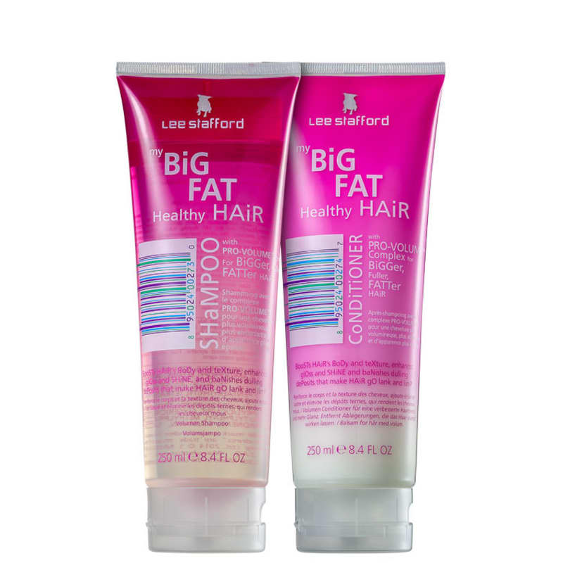 Kit Lee Stafford My Big Fat Healthy Hair Duo (2 Produtos)