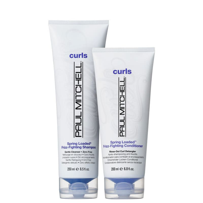 Kit Paul Mitchell Curls Spring Loaded Frizz-Fighting Duo (2 Produtos)