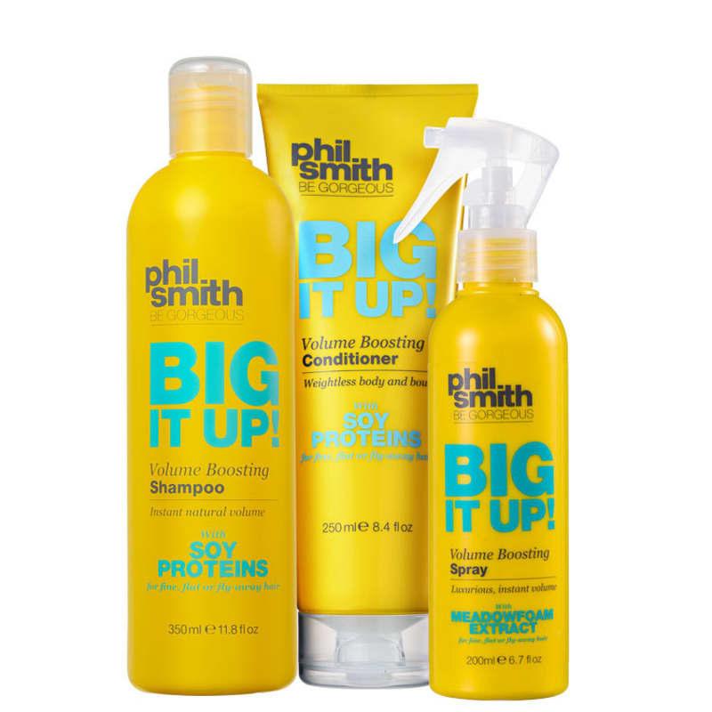 Kit Phil Smith Big It Up Volume Boosting Spray (3 Produtos)