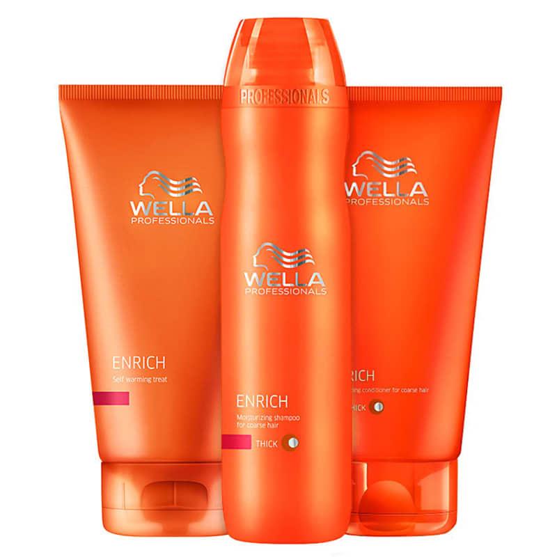 Kit Wella Professionals Enrich Warm (3 Produtos)