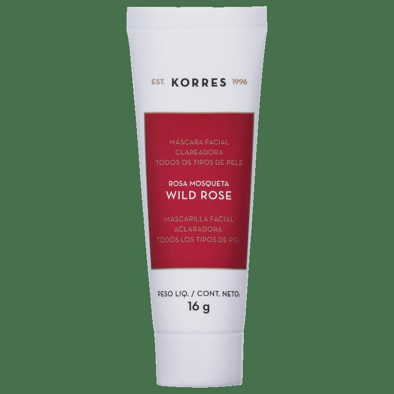 Korres Wild Rose - Máscara Clareadora 16g