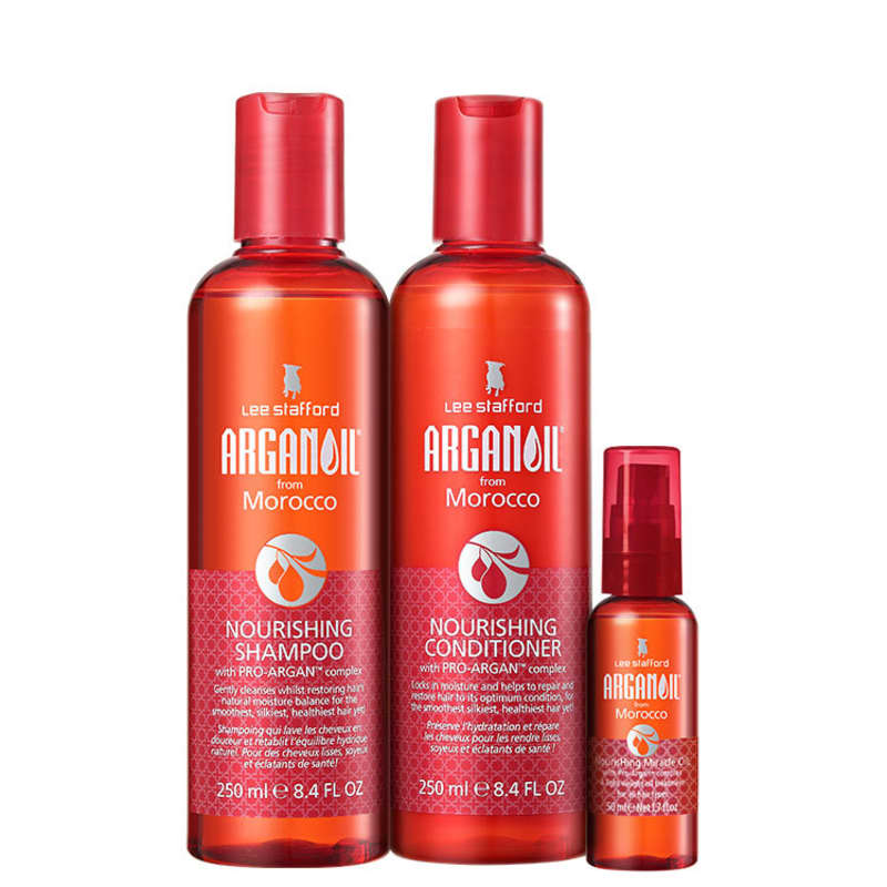 Lee Stafford Arganoil From Morocco Nourishing Kit de Tratamento (3 Produtos)