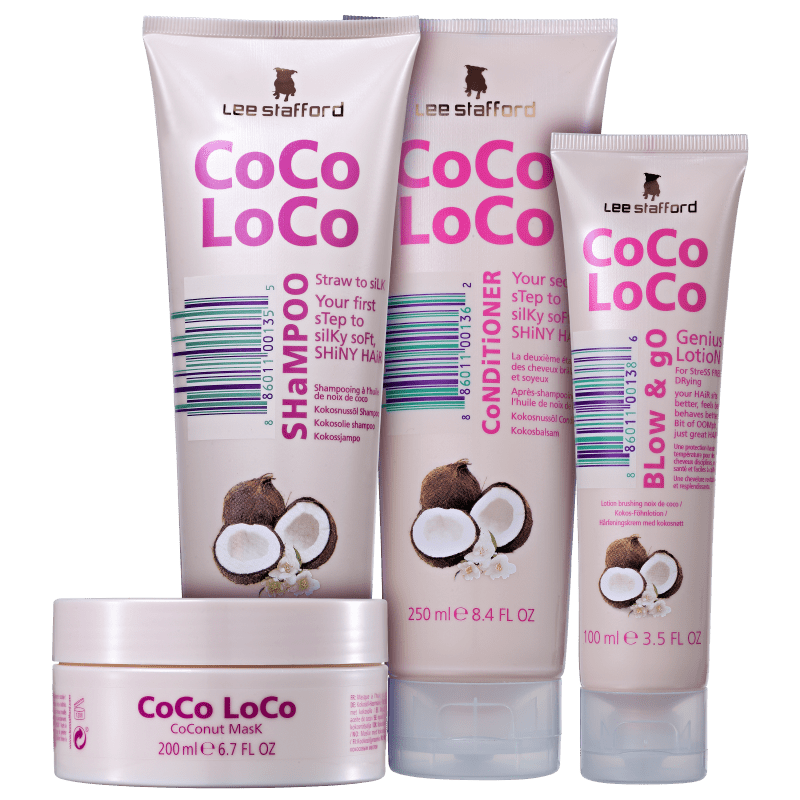 Kit Lee Stafford Coco Loco Complete (4 Produtos)