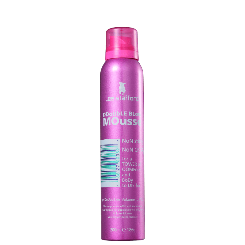 Lee Stafford Double Blow - Mousse Volumadora 200ml