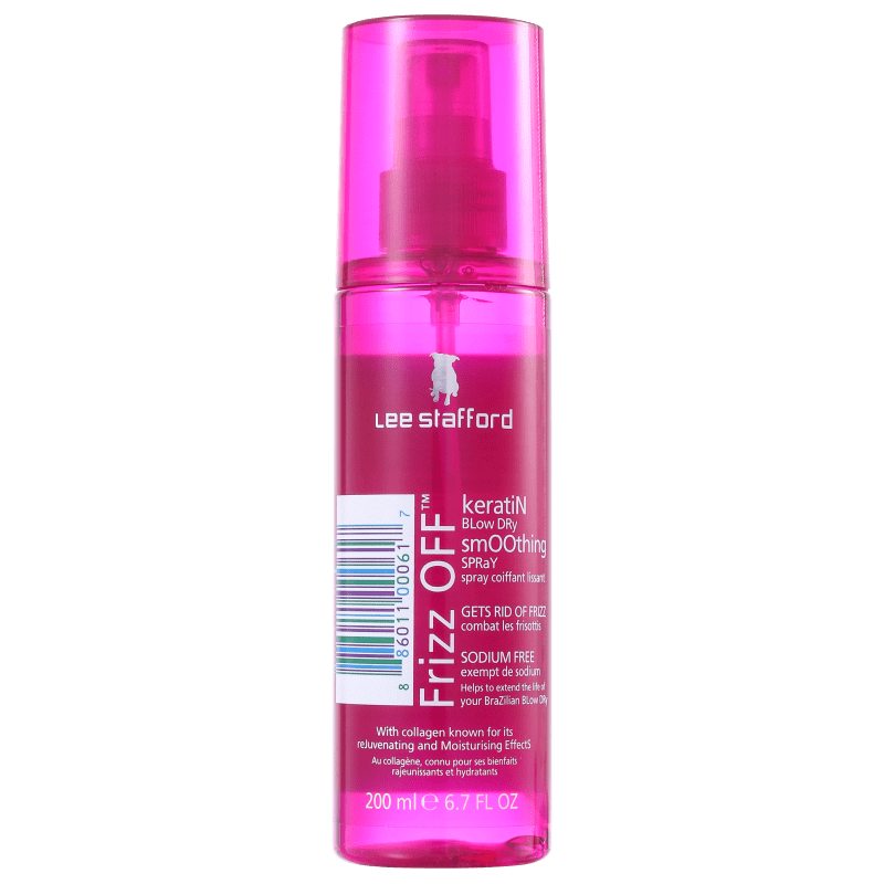 Lee Stafford Frizz Off Keratin Blow Dry Smoothing - Spray Protetor Térmico 200ml
