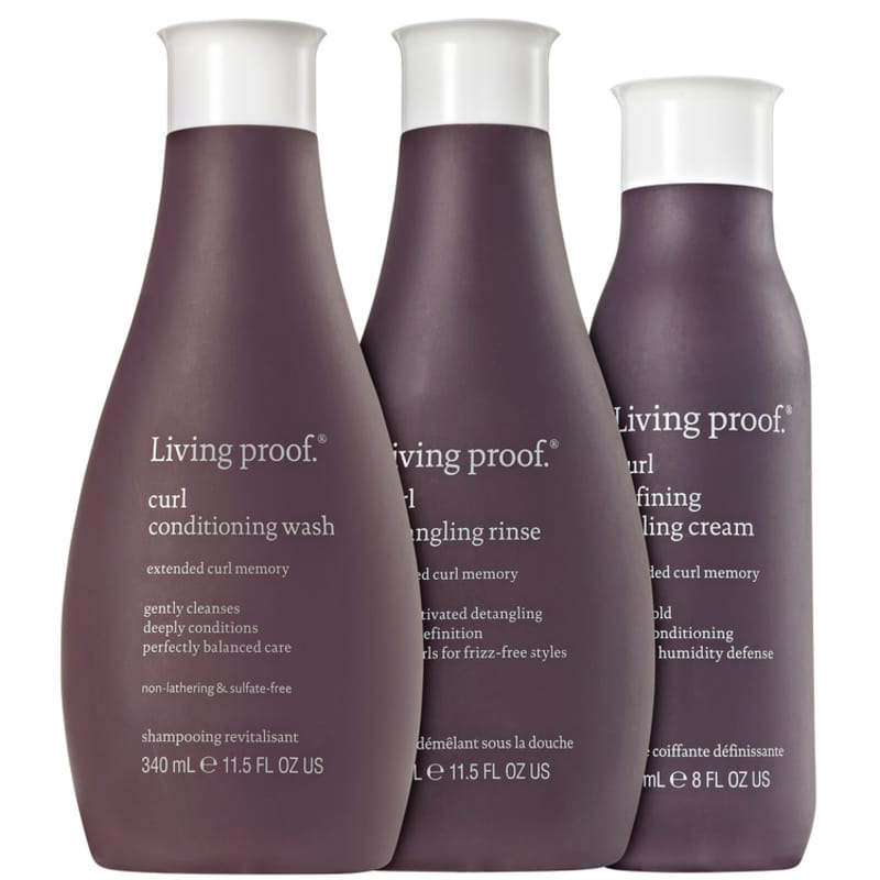 Living Proof Curl Styling Kit (3 Produtos)