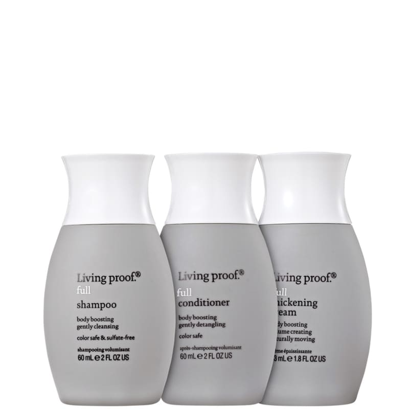Living Proof Full Cream Travel Kit (3 Produtos)