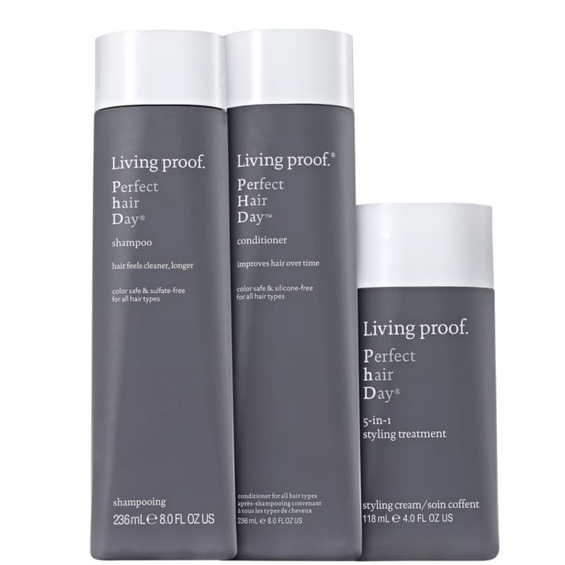 Living Proof Perfect Hair Day (PHD) Styling Kit (3 Produtos)