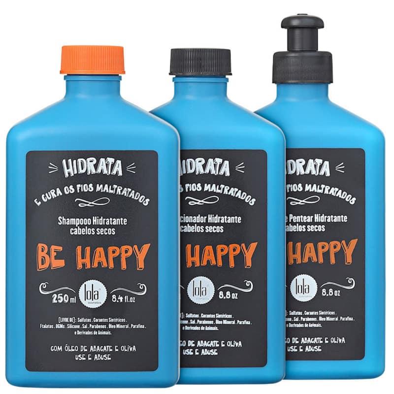 Kit Lola Cosmetics Be Happy Trio (3 Produtos)