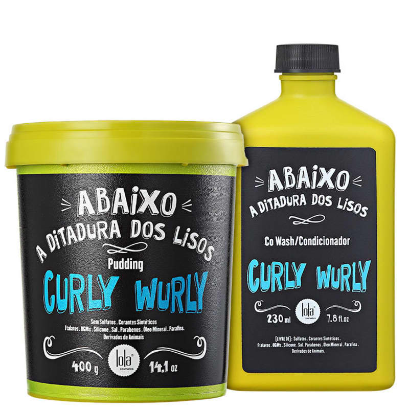 Kit Lola Cosmetics Curly Wurly Duo (2 Produtos)