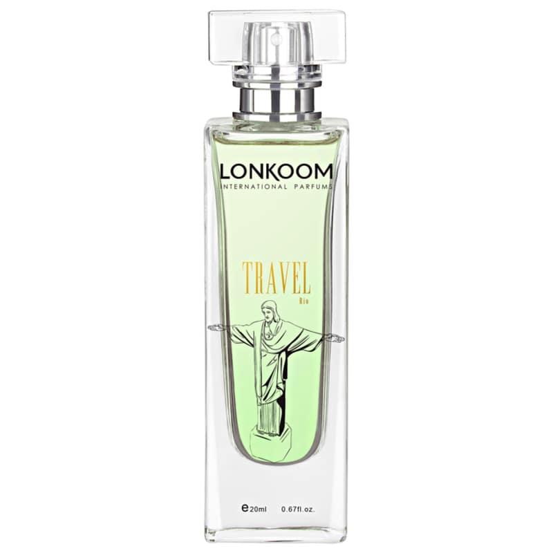 Lonkoom Travel Rio de Janeiro For Women Deo Colonia - Perfume Feminino 20ml