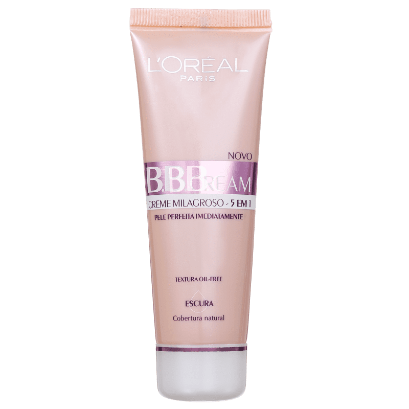 L'Oréal Paris 5 em 1 FPS 20 Escura - BB Cream 50ml