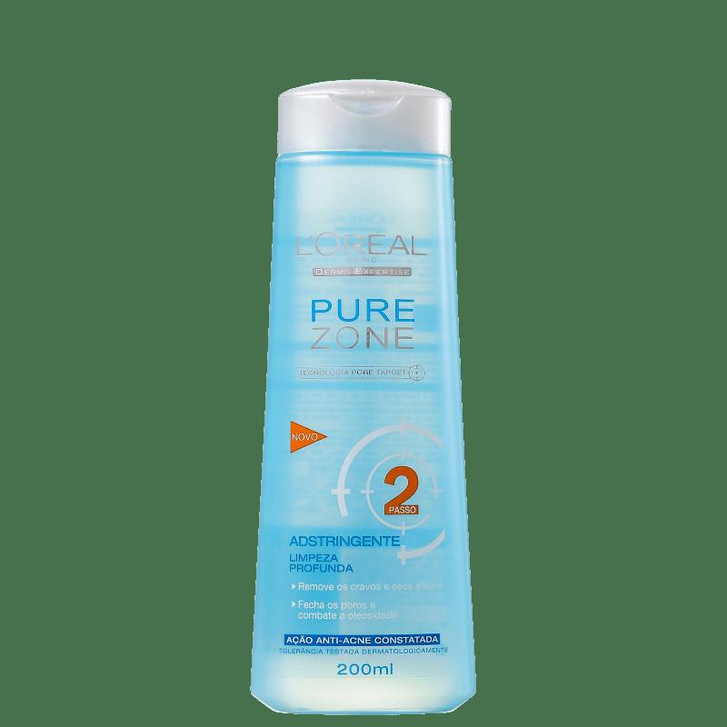 L'Oréal Paris Dermo-Expertise Pure Zone - Adstringente Facial 200ml