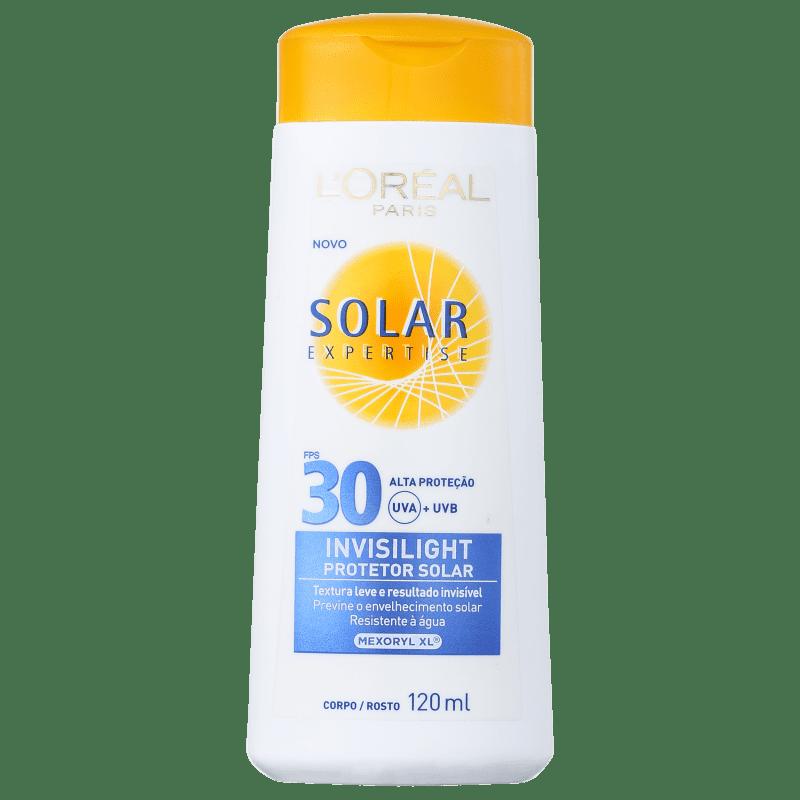 L'Oréal Paris Solar Expertise Invisilight FPS 30 - Protetor Solar 120ml