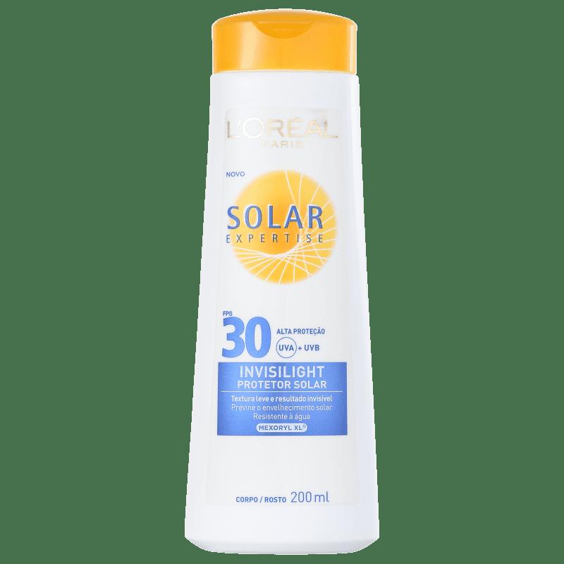 L'Oréal Paris Solar Expertise Invisilight FPS 30 - Protetor Solar 200ml