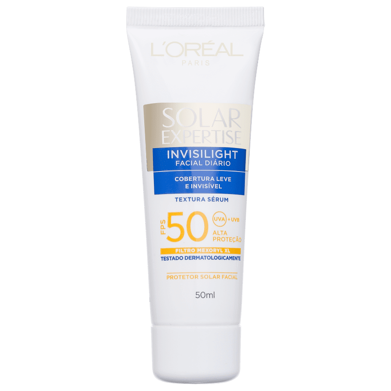 L'Oréal Paris Solar Expertise Invisilight FPS 50 - Protetor Solar Facial 50g
