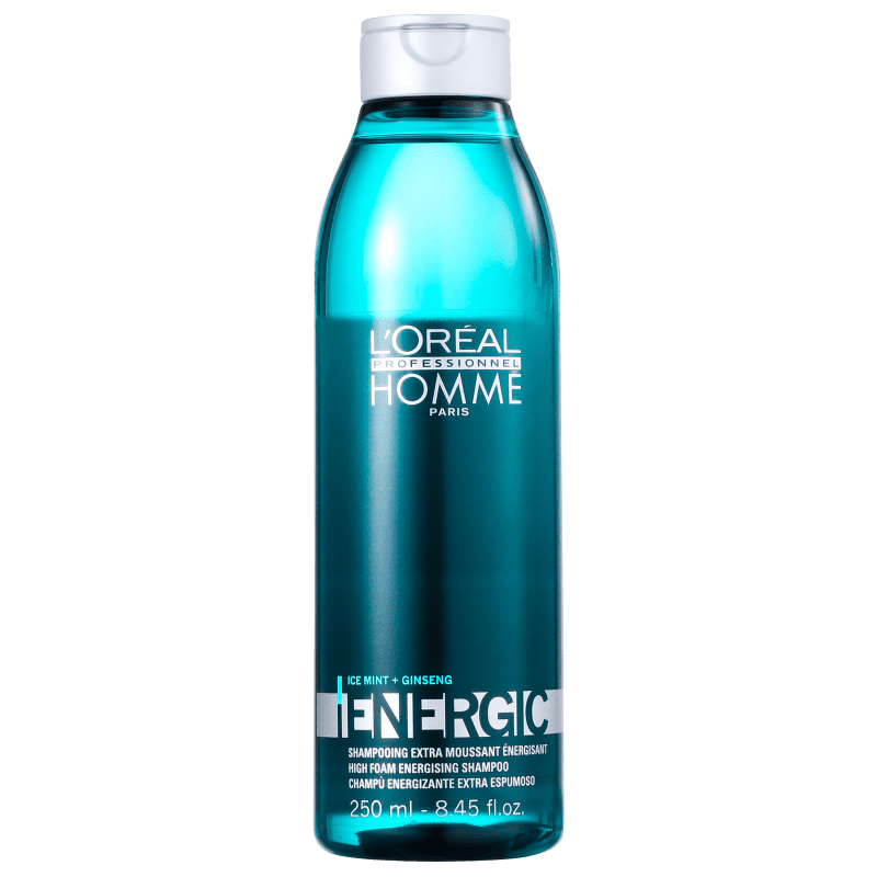 L'Oréal Professionnel Homme Energic - Shampoo 250ml