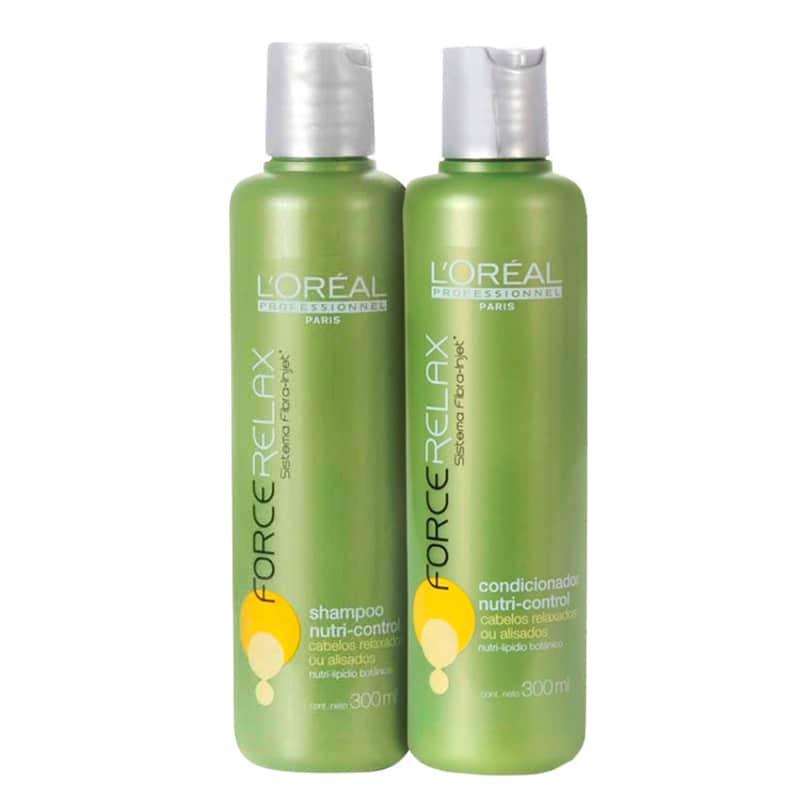 Kit L'Oréal Professionnel Expert Force Relax Nutri-Control Duo (2 Produtos)