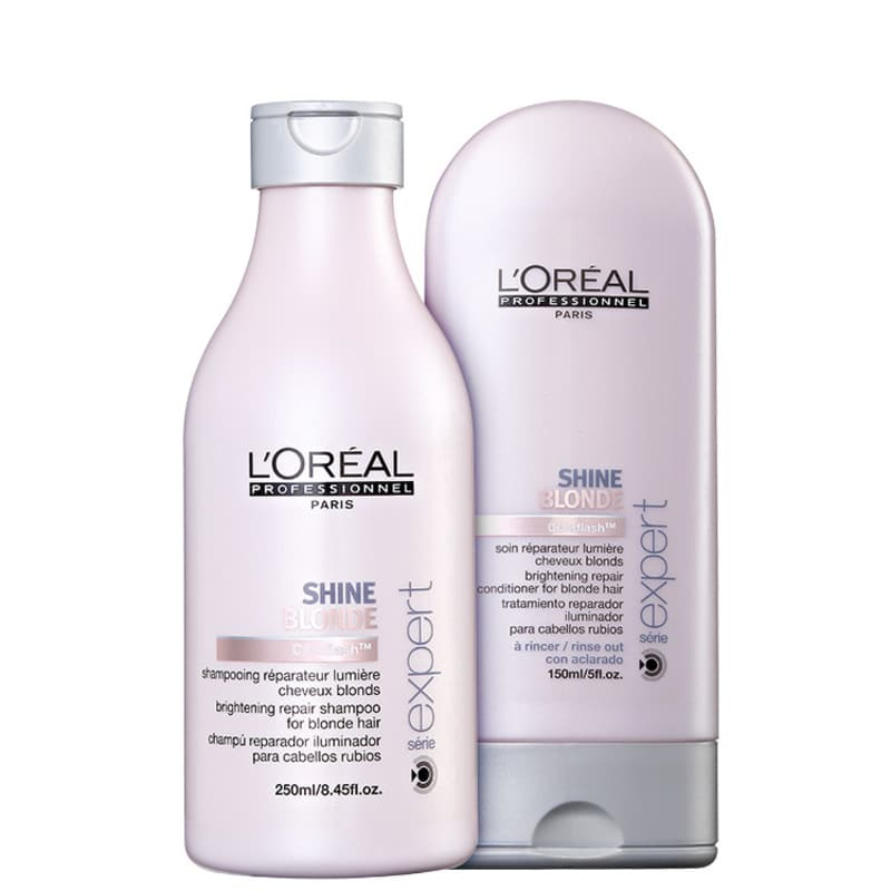 Kit L'Oréal Professionnel Shine Blonde Duo (2 Produtos)