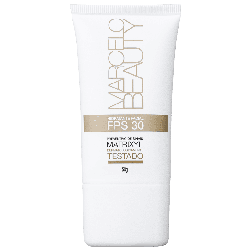 Marcelo Beauty FPS 30 - Hidratante Facial 50g