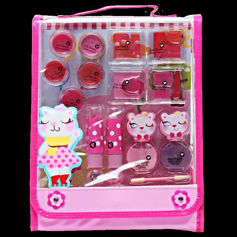 Markwins Linha Pop Pretty In Pink - Conjunto de Maquiagem Infantil