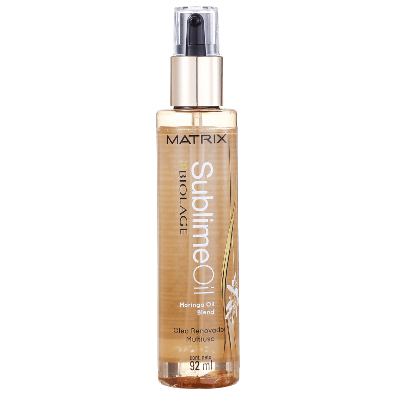 Matrix Biolage Sublime Oil Óleo Renovador Multiuso - Óleo de Tratamento Finalizador 92ml