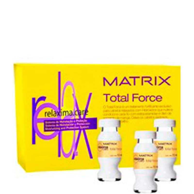 Matrix Relaxima.Care Total Force - Ampola de Tratamento 12x10ml