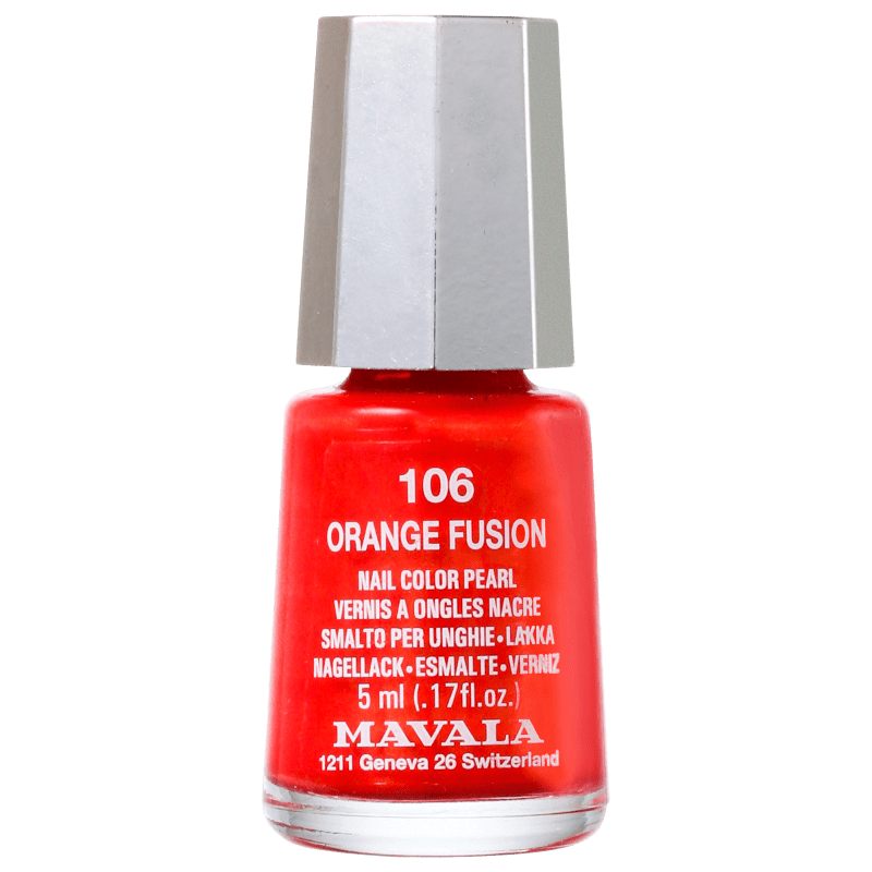 Mavala Techni Colors Orange Fusion - Esmalte Cremoso 5ml