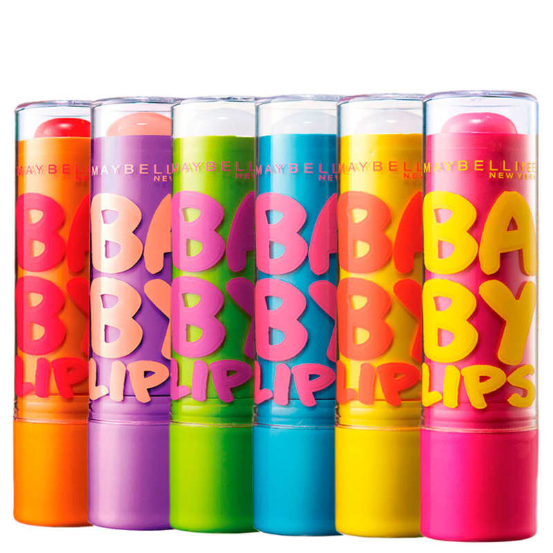 Kit Maybelline Baby Lips All (6 Produtos)