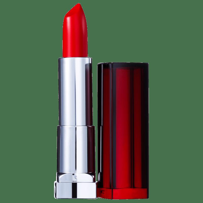 Maybelline Color Sensational Vermelhos Poderosos 307 Vou de Vermelho - Batom Cremoso 4,2g