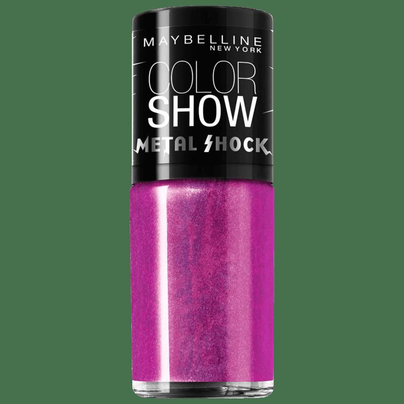 Maybelline Color Show Metal Shock Speending Light - Esmalte 9ml