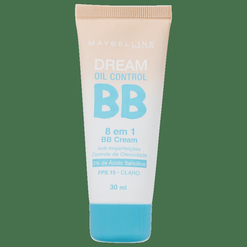 Maybelline Dream Oil Control 8 em 1 FPS 15 Claro - BB Cream 30ml