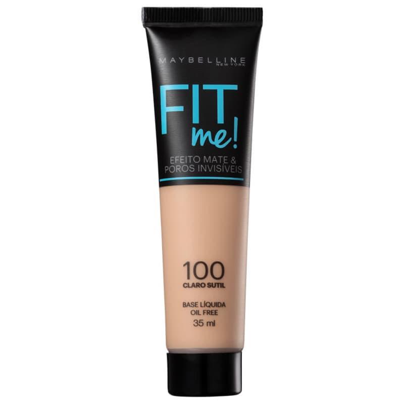 Maybelline Fit Me! Toque Matte + Fresh 100 - Base Líquida 35ml