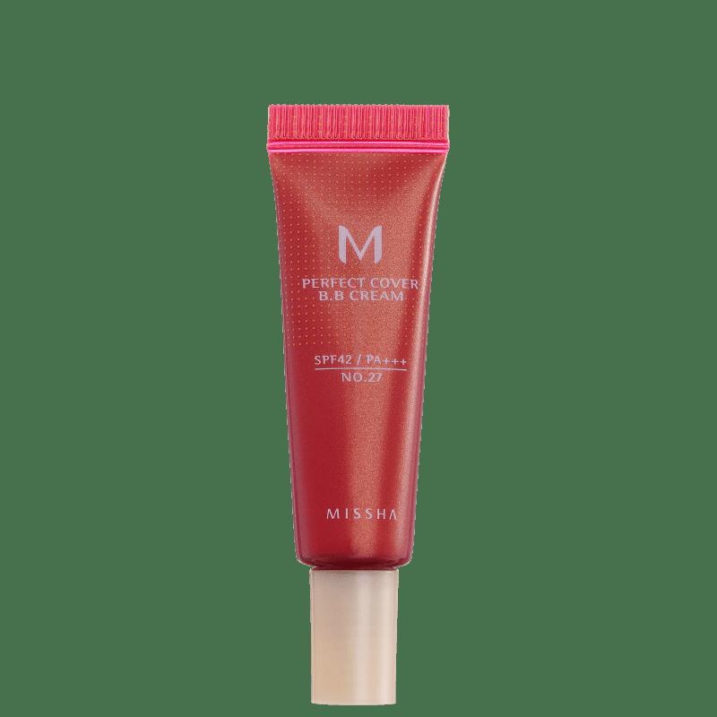 Missha M Perfect Cover Nº 27 Honey Beige - BB Cream 10ml