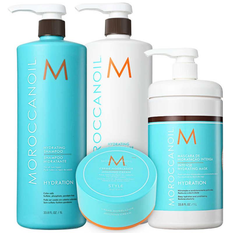 Kit Moroccanoil Hydration Complete (4 Produtos)