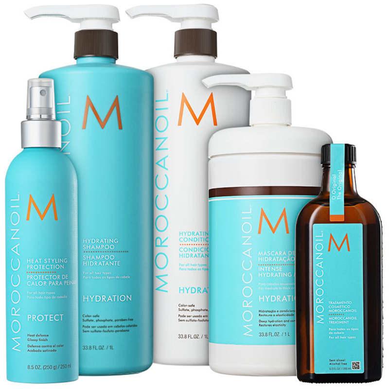Kit Moroccanoil Hydrating Protection (5 Produtos)