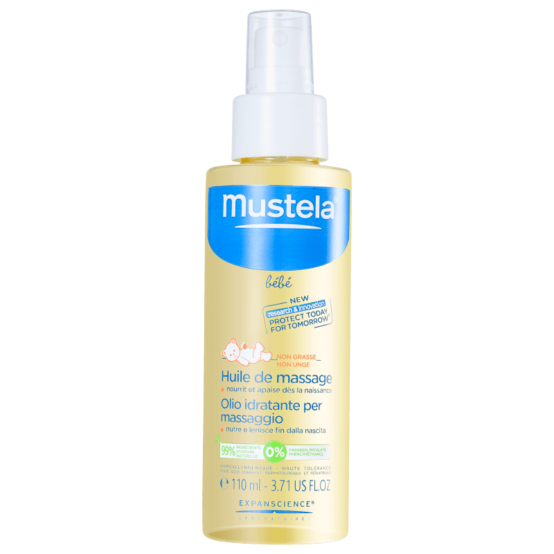 Mustela Bébé Huile de Massage - Óleo de Massagem 110ml