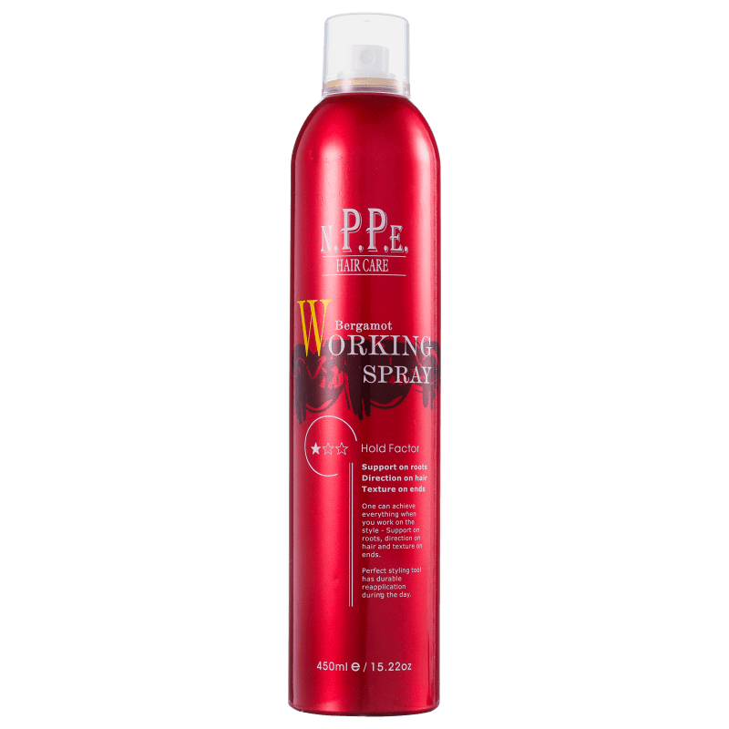 N.P.P.E. Bergamot Working Spray - Spray Modelador 450ml