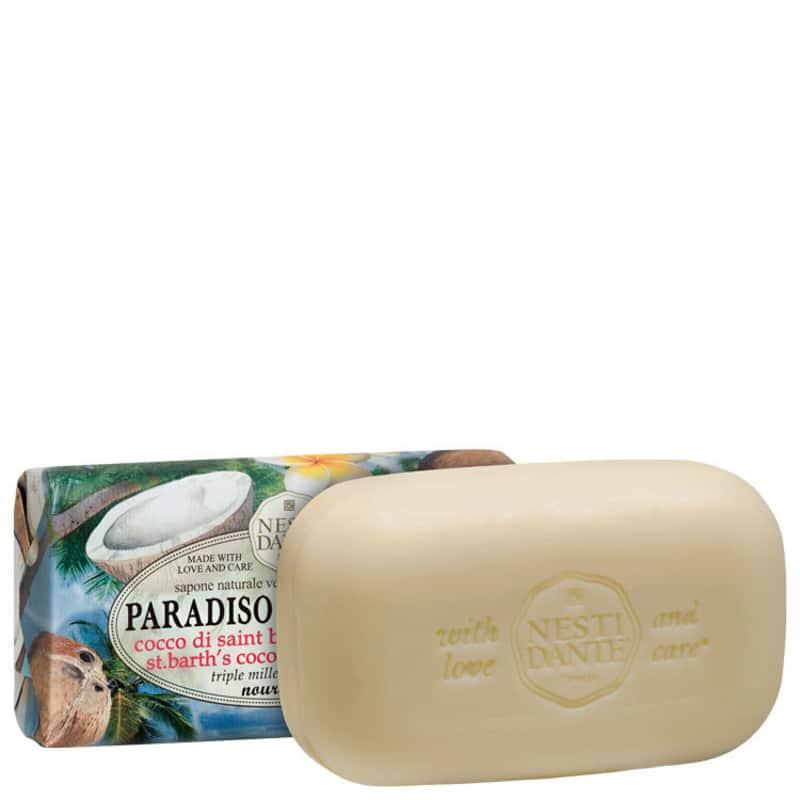 Nesti Dante Paradiso Tropicale Coco di Saint Barth e Frangipane - Sabonete em Barra 250g