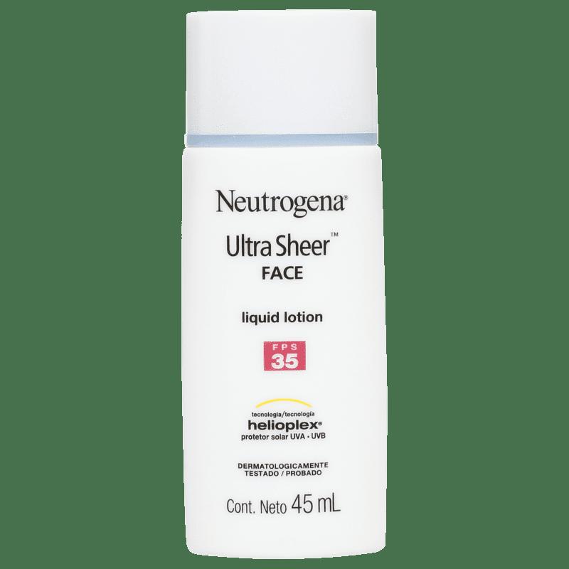 Neutrogena Ultra Sheer Liquid Lotion - Protetor Solar Facial FPS 35 45ml