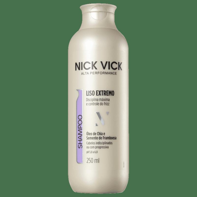 Nick & Vick PRO-Hair Liso Extremo - Shampoo 250ml