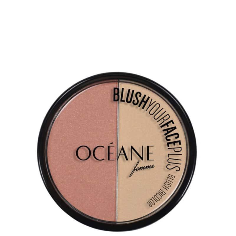 Océane Blush Your Face Coral Peach - Blush em Pó 9,3g