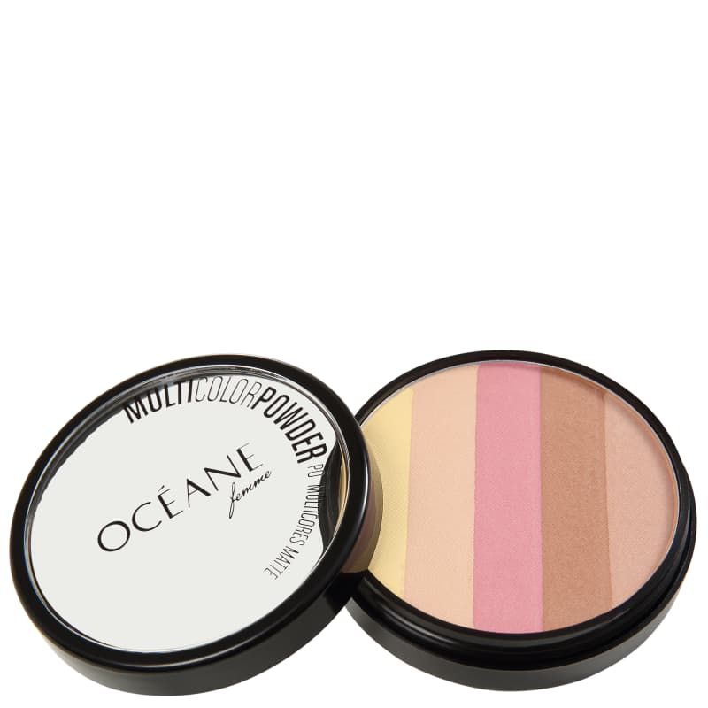 Océane Multicolor Powder Matte - Pó 3 em 1 7,2g
