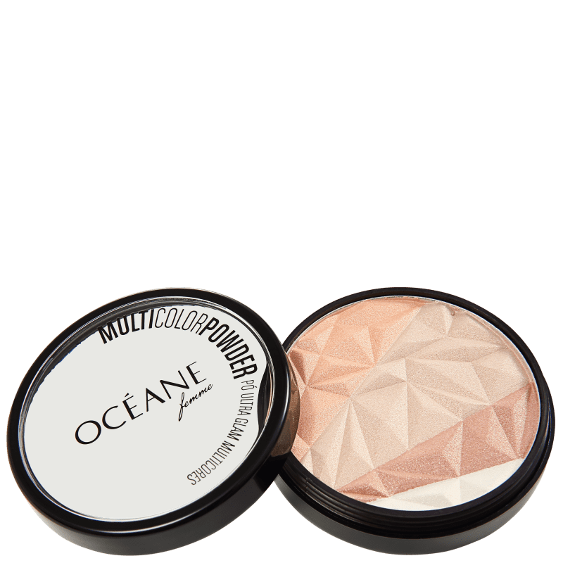 Multicolor Powder Ultra Glam - Pó 3 em 1 9,5g