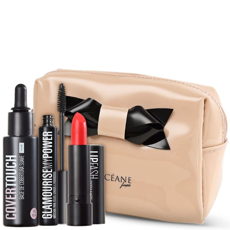 Kit Océane Cover Touch 1 Glamourise Cassandra Starlet (4 produtos)