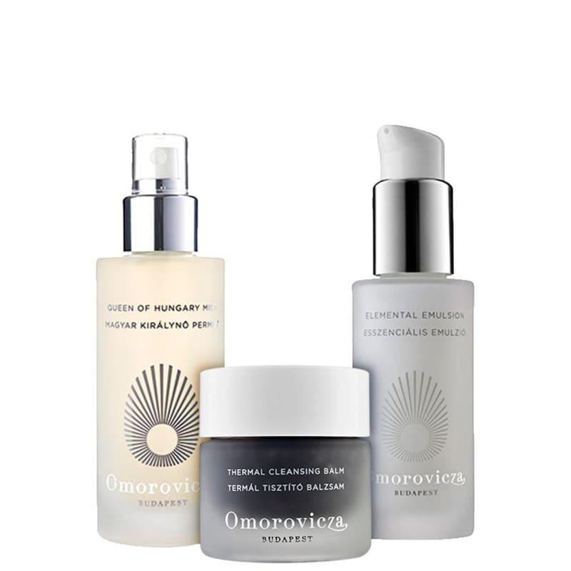 Omorovicza Clean Nutritive Skin Kit - Pele Oleosa ou Mista (3 Produtos)