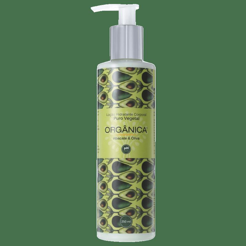 Orgânica Puro Vegetal Abacate e Oliva - Loção Hidratante Corporal 250ml