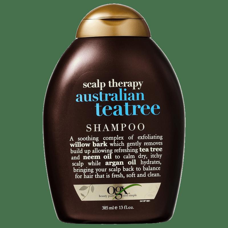 Organix Australian Teatree - Shampoo sem Sulfato 385ml