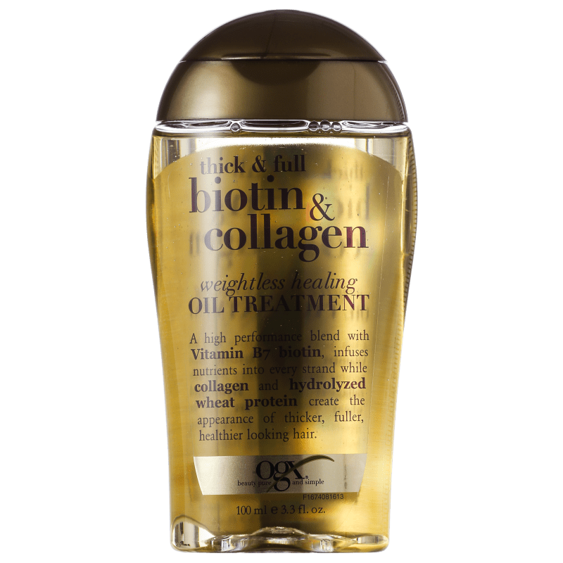 Organix Biotin & Collagen Weightless Healing Oil Treatment - Óleo de Tratamento 100ml